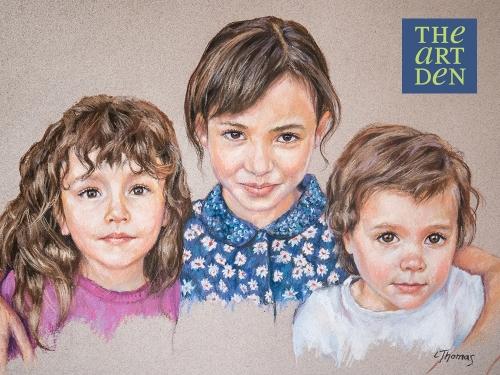 Family Portrait in Pastel