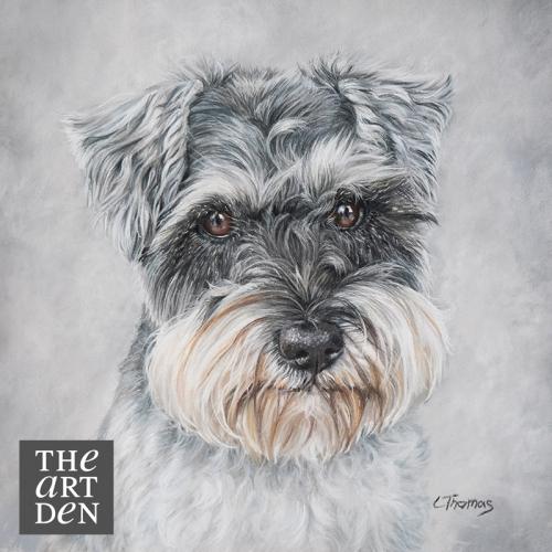 Buy pet portrait for Christmas