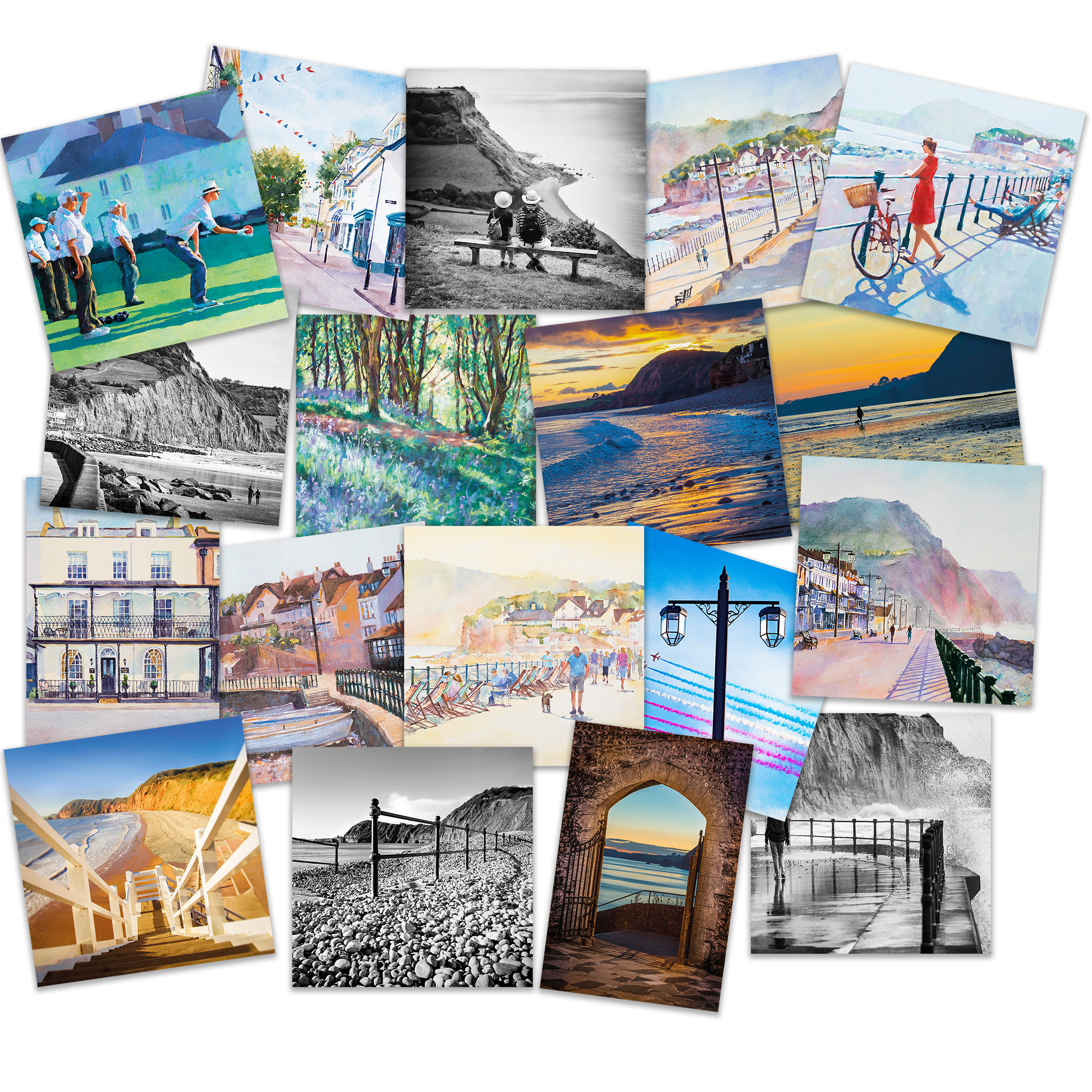 Sidmouth Greetings Cards